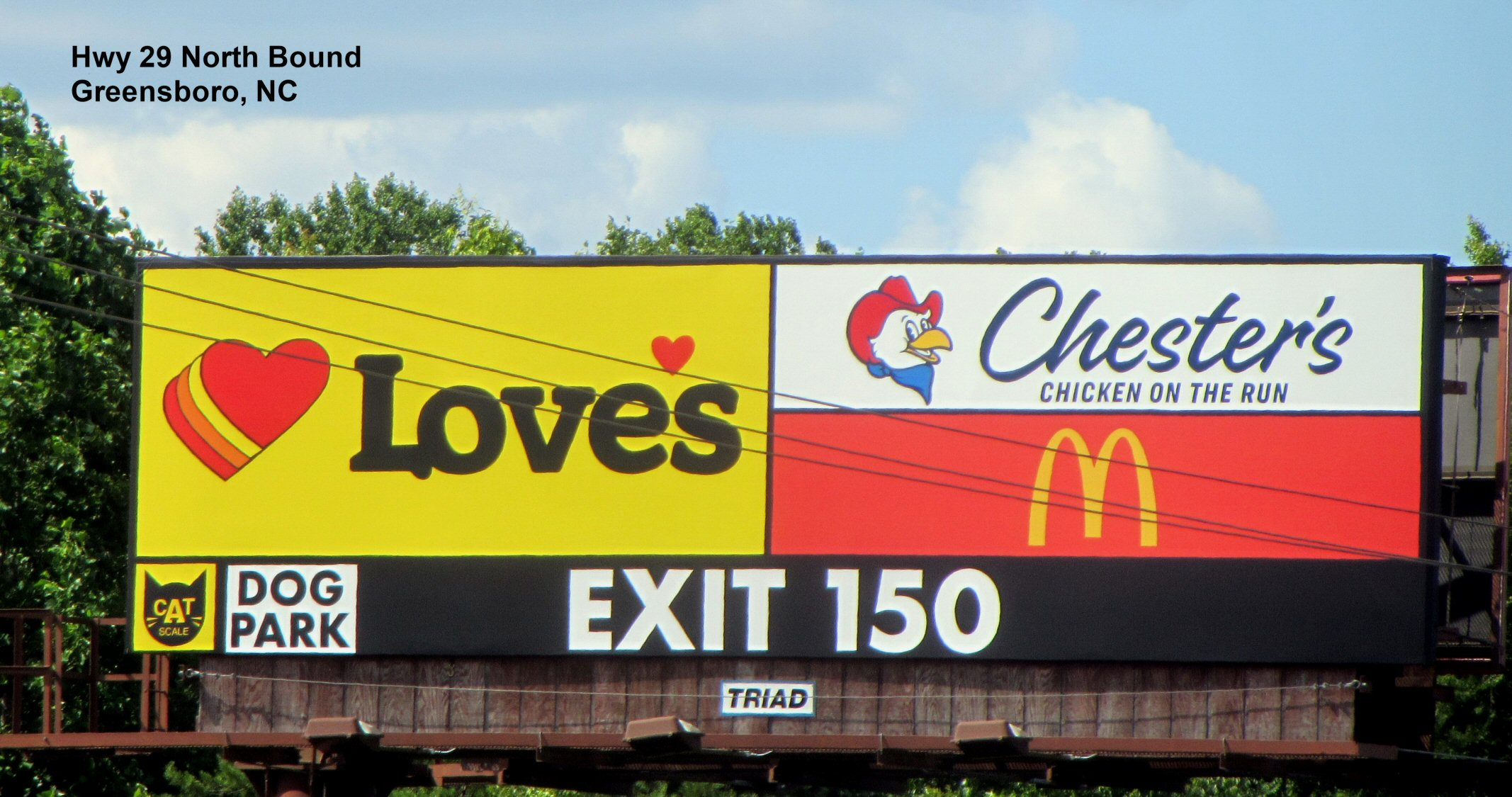 Greensboro Triad Outdoor Advertising